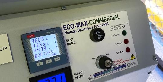 Eco-Max VO Equipment In use